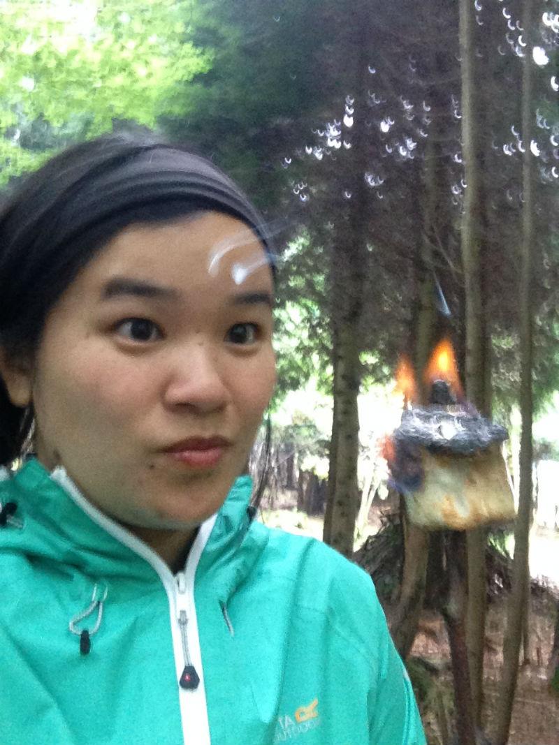 marshmallow-on-fire